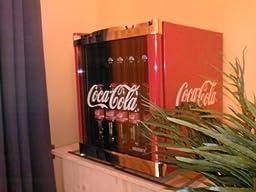 husky cool cube mini k hlschrank coca cola design energieeffizienzklasse b nutzinhalt 50l. Black Bedroom Furniture Sets. Home Design Ideas