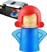 Angry Mama è un erogatore  divertente ed ecologico per pulire Frigorifero e Forno a Microonde.