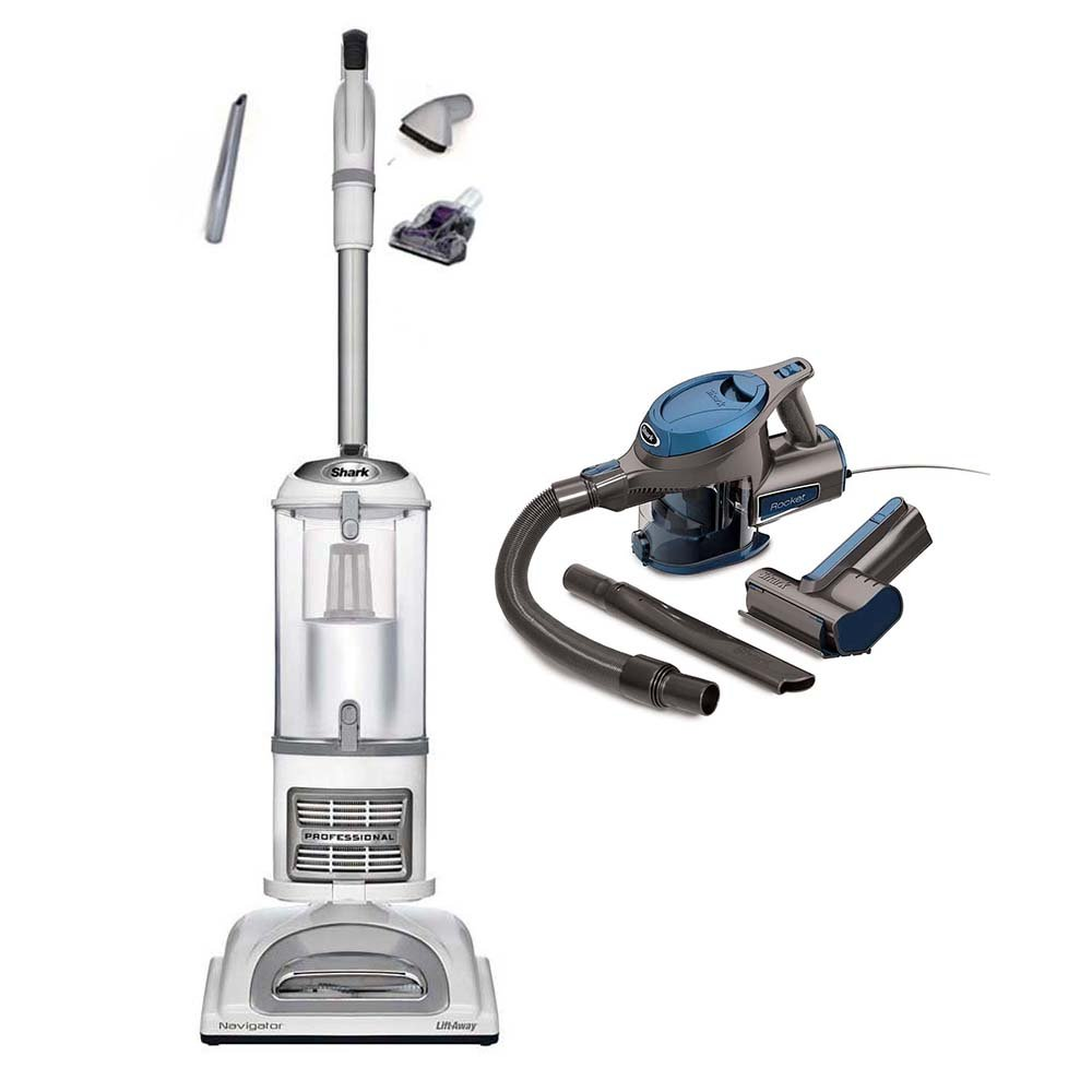 Shark Navigator Liftaway Pro Vacuum + Rocket Handheld (Certified Refurbished)