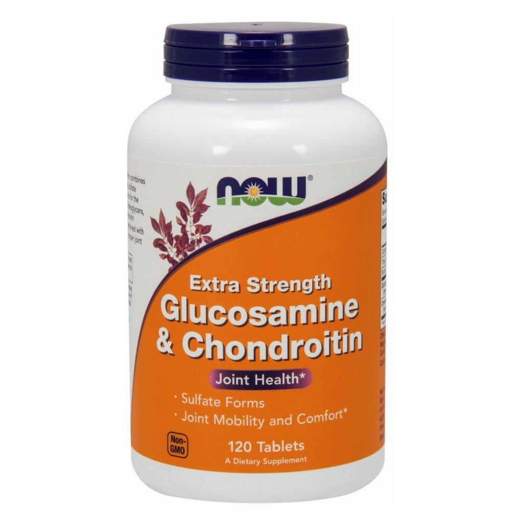 NOW Glucosamine & Chondroitin Extra Strength,120 Tablets