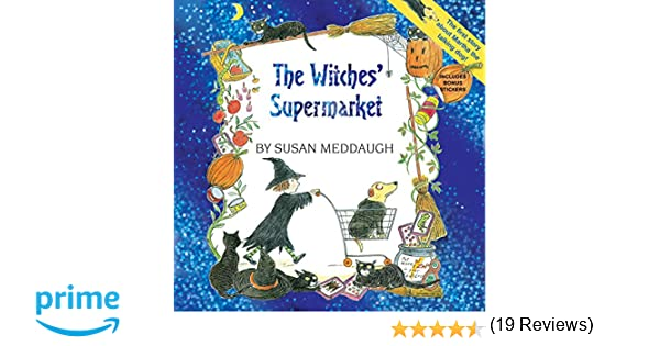 The Witches' Supermarket (8x8 with stickers) (Martha Speaks ...