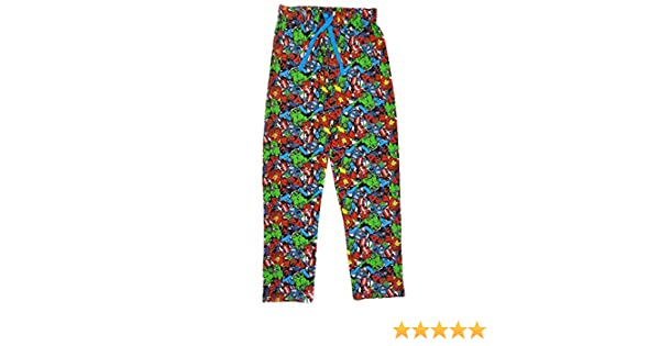 Marvel Heroes - Pantalón de Pijama - para Hombre X-Large: Amazon.es: Ropa y accesorios