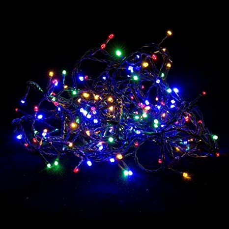 4b33962dc5c Guirnalda de Luces led de Navidad de Interior y Exterior Moderna para  decoración navideña Christmas -
