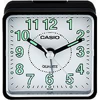Casio TQ140 Travel Alarm Clock - Bla Clock Radios