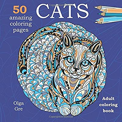 Cats: Coloring book