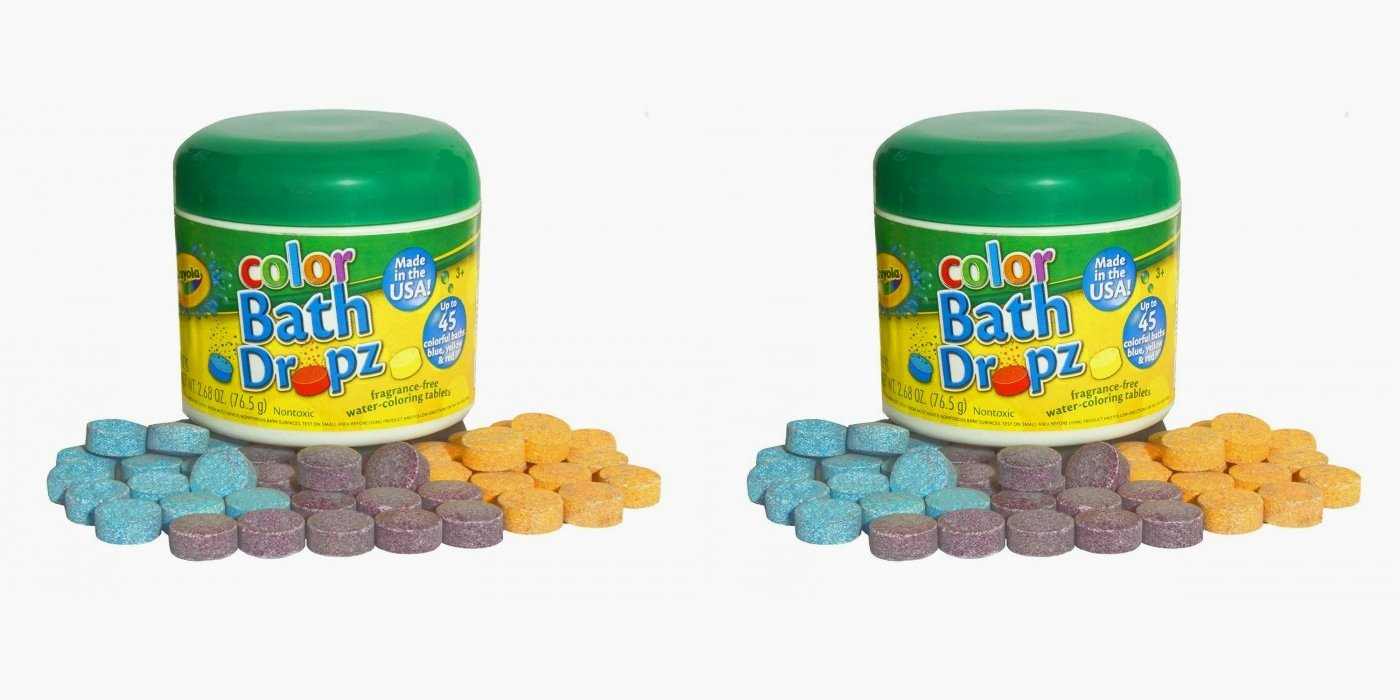 Crayola Bath Dropz 2.68 oz 45 Tablets (Pack of 2)