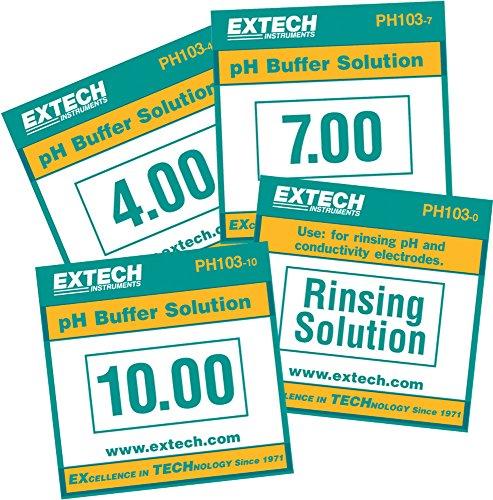 Extech PH103 Tripak Pouches Solution