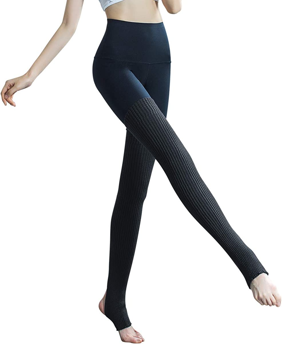 LW003313 Lilac Purple Stirrup Dance//Ballet Leg Warmers