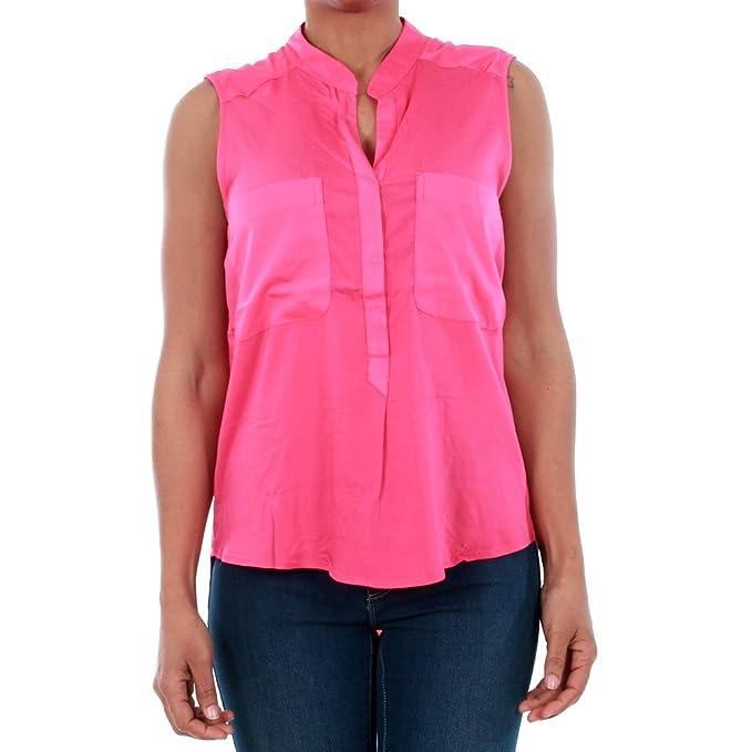 Vero Moda Camisa Mujer XS Fucsia 10192814 VMERIKA Mix S/L Shirt NFS Beetroot Purple