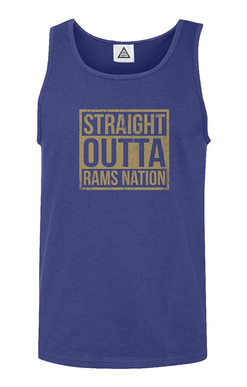 Straight Outta Rams Nation Football Tank Top