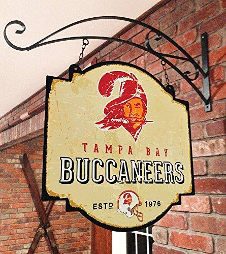 Tampa Bay Buccaneers Wall Hanging - NFL Tampa Bay Buccaneers Tavern Sign