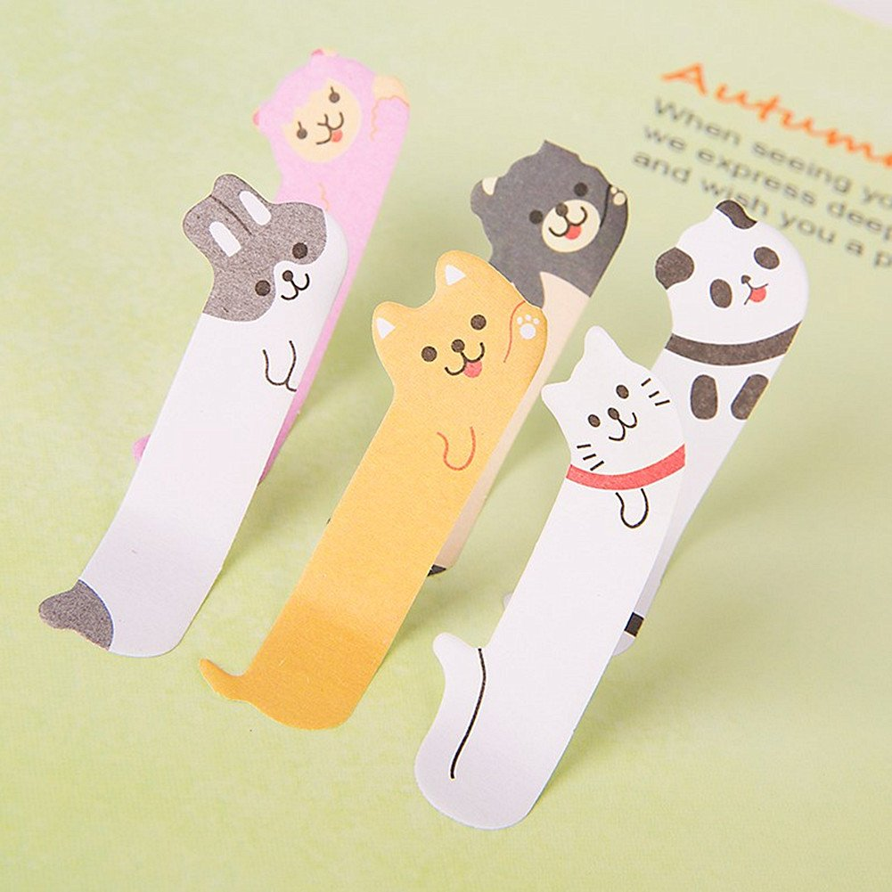 Penguins Unetox Bookmarks Lovely Animals Sticker Memo Flags Markers DIY Memo Pad Index Tab Sticky Notepapers
