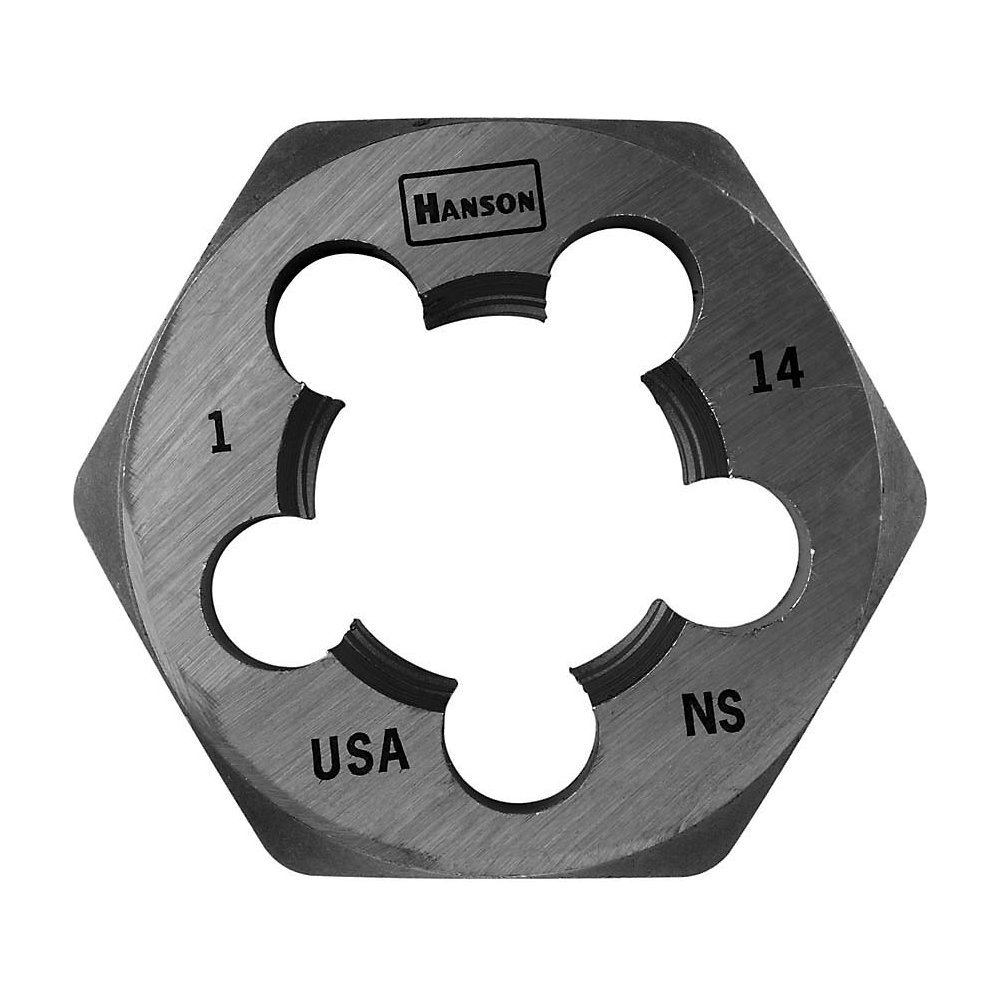 Hanson 8467 Die 1-14 1 13/16 Sh, for Tap Die Extraction by Lenox Tools