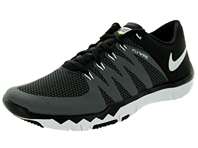 new styles 617b5 cf16c Nike Men s Free Trainer 5.0 V6, Black White-Dark Grey-Volt,