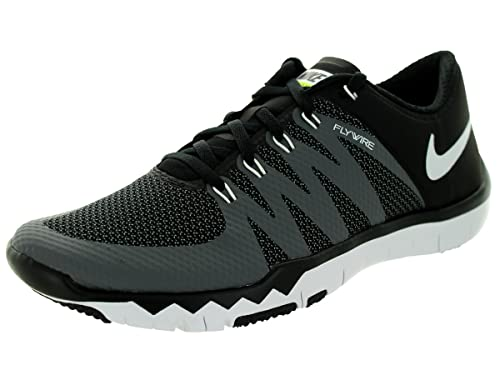c12e2e83 Nike Men's Free Trainer 5.0 V6 Black/White/Dark Grey/Volt Running Shoe 13  Men US: Buy Online at Low Prices in India - Amazon.in