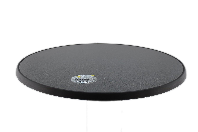 Sevelit Tischplatte Punti Design, rund, 700mm Durchmesser, wetterfest, schlagfeste schlagfeste schlagfeste Tischkante, Tischplatten ideal als Ersatzteil und zum Nachrüsten d1a0a7