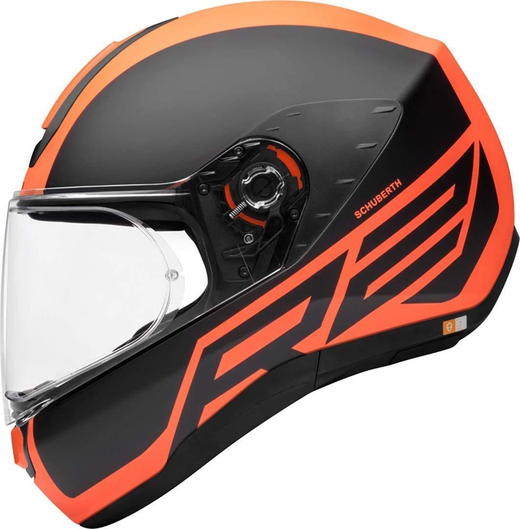 58//59 Schuberth R2 Traction Helm Orange L