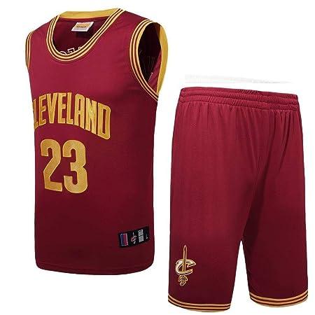 AKCHIUY Camiseta De Baloncesto Hombre,NBA Cavs 23 James ...