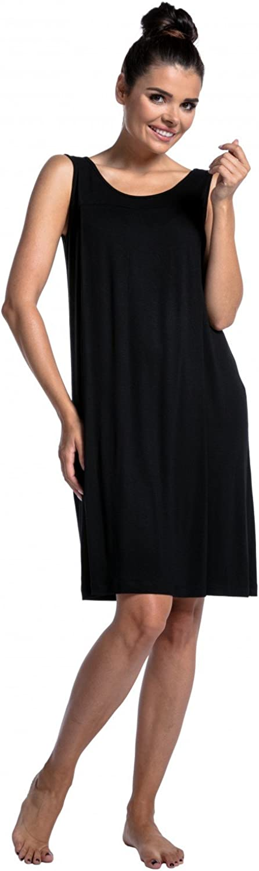 Damen Zeta Ville 994c Schwangere Still-Nachthemd ohne /Ärmeln Umstandsmode