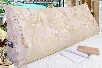 Cuscino di seta di ghiaccio cuscino triangolo letto morbido letto