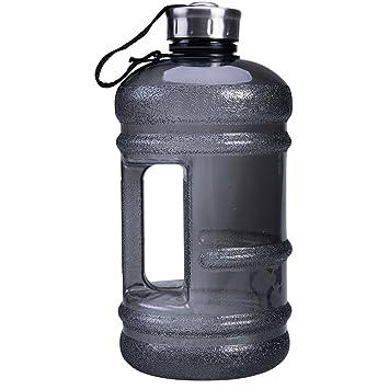 2.2L Big Large BPA Free Sport Gym Training Drink Water Bottle Cap Kettle Camping