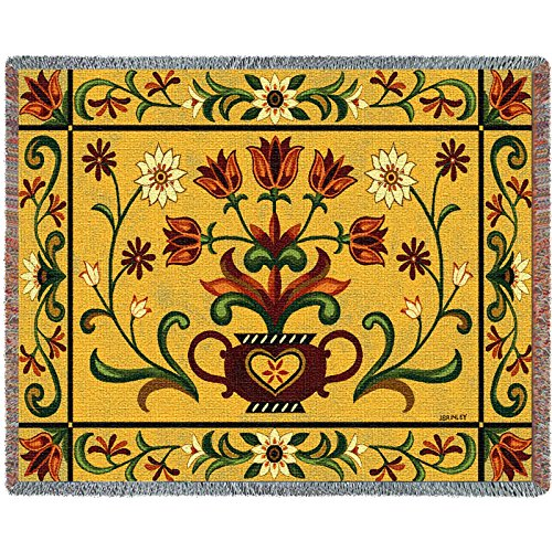 Pure Country Weavers Floral Tapestry (Pure Country Heritage Floral Tapestry Blanket Throw)