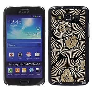 rígido protector delgado Shell Prima Delgada Casa Carcasa Funda Case Bandera Cover Armor para Samsung Galaxy Grand 2 SM-G7102 SM-G7105 /Wall Design Art Inspiration/ STRONG