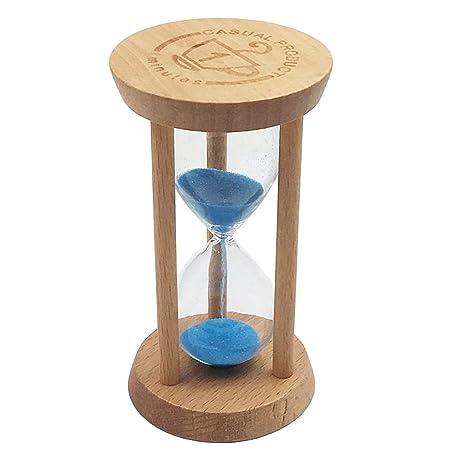 Homyl 10 Mins Reloj de Arena Temporizador de Cocina Juguete de Aprendizaje de Tiempo para Niños
