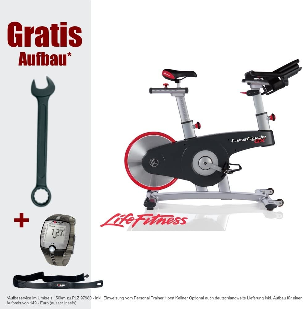 Life Fitness Lifecycle GX - Bicicletas estáticas y de Spinning ...