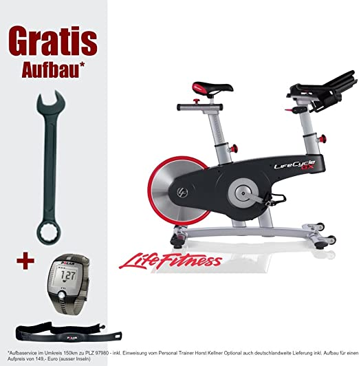 Life Fitness Lifecycle GX - Bicicletas estáticas y de Spinning ...