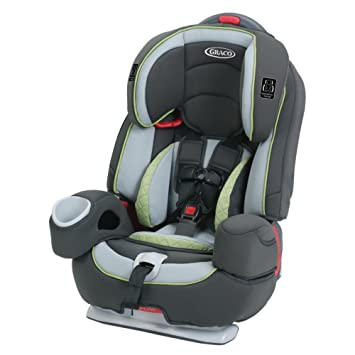 Graco Nautilus 80 Elite 3 In 1 Harness Booster Car Seat Go Green