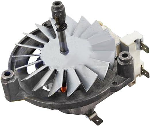 Spares2go - Montaje de motor de ventilador para horno de cocina ...