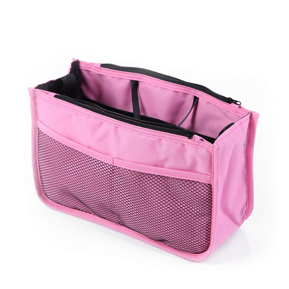 LORGDFDF Practical Multi-Function Baby Stroller Organizer Bag Cosmetic Bag for Women Lots of Space Light and Durable Pink is A (Color : Pink, Size : Free Size) by LORGDFDF (Image #1)
