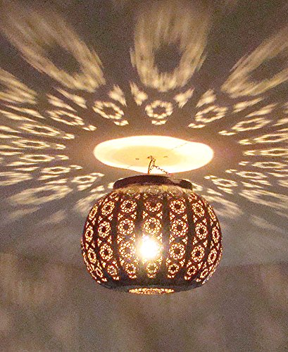 Moroccan Ceiling Light in Metal 40 cm 6 Color Morocco Moroccan