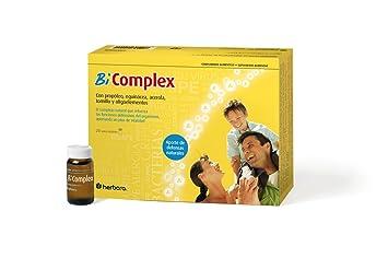 Herbora BI COMPLEX, Complejo natural, 20 viales bebibles: Amazon.es: Salud y cuidado personal