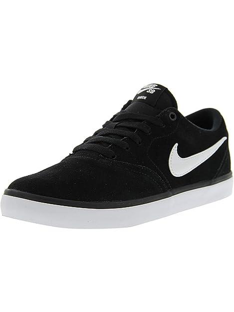 online store afe38 50bfa Nike SB Check Solar, Zapatillas de Skateboarding para Hombre: Amazon.es:  Zapatos y complementos