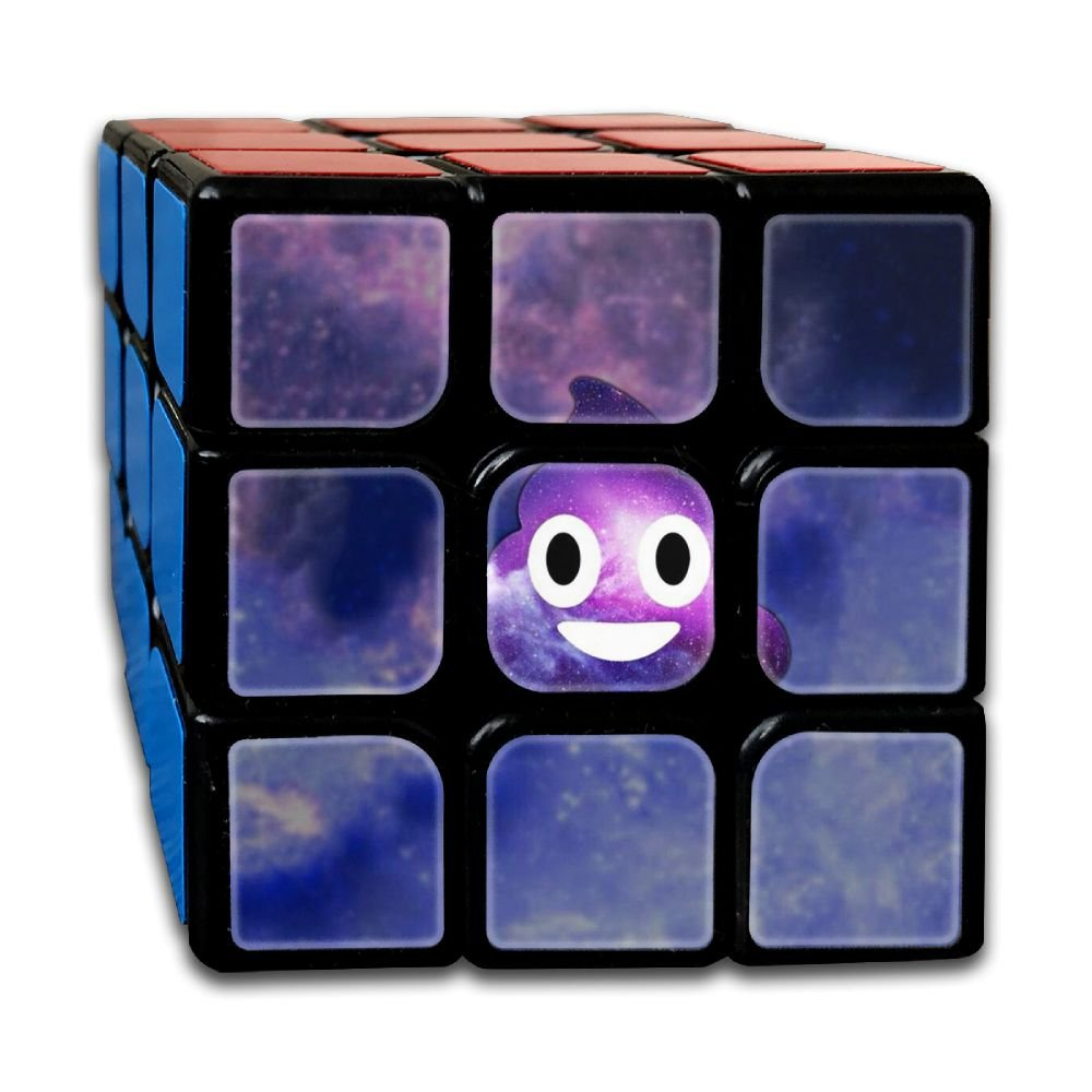 AVABAODAN Galaxy Shit Rubik's Cube 3D Printed 3x3x3 Magic Square Puzzles Game Portable Toys-Anti Stress For Anti-anxiety Adults Kids