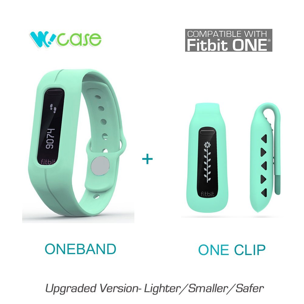 WoCase OneBand Fitbit One Accessory Wristband Bracelet Collection (2016 Lastest Version, Secured, Lost Proof) for Fitbit One Activity and Sleep Tracker (Turn Your Fitbit One into Wearable FLEX/FORCE/CHARGE, Gift Ready Retail Package) One size
