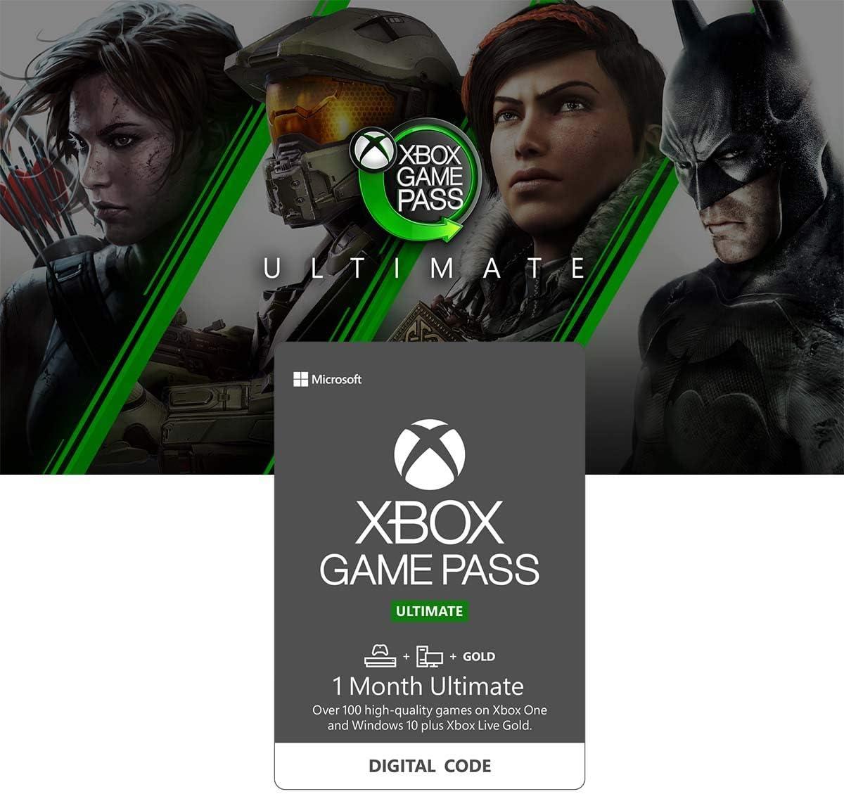 Amazon.com: Xbox Game Pass Ultimate: 3 Month Membership ...