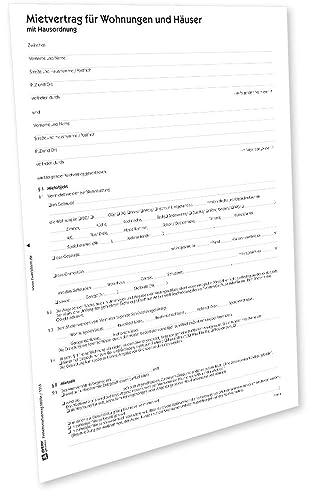 Avery Zweckform 2850e Mietvertrag Wohnung Pdf Download Amazonde
