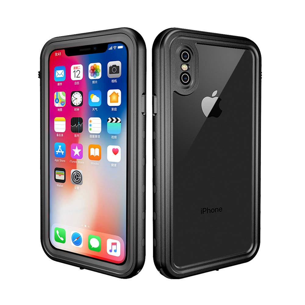 ChuWill Funda Impermeable iPhone X, Carcasa iPhone XS, Certificado ...