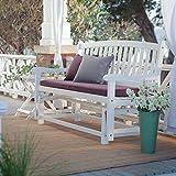Premium Patio Chairs Loveseat Modern Outdoor Wood