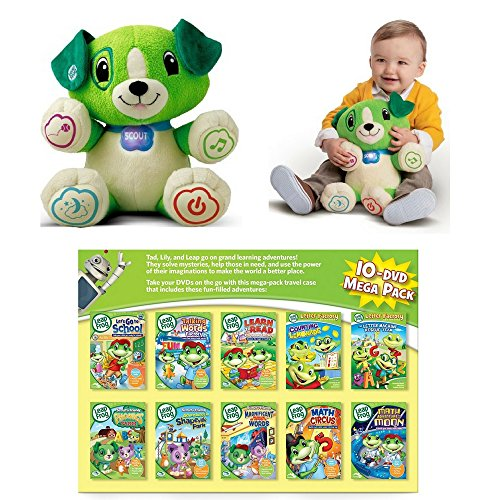 LeapFrog 10-Piece DVD Ultimate Grand Learning Adventure Pack
