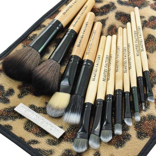Beauties Factory 12pcs Makeup Brush Set (African Leopard) -