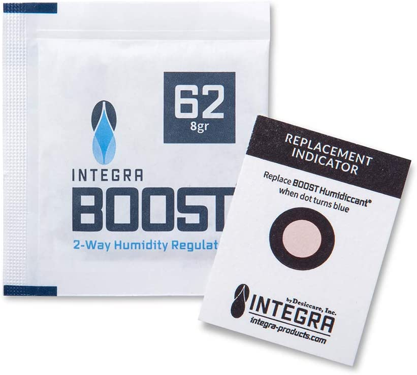 12//Pack Integra Boost 67g Humidiccant 62/% 2-Way Humidity Control Packs
