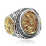 LILILEO Jewelry Titanium Steel Retro Chi