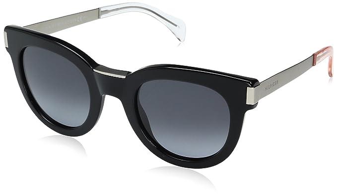 Tommy Hilfiger TH 1379/S HD, Gafas de Sol Unisex-Adulto, Black