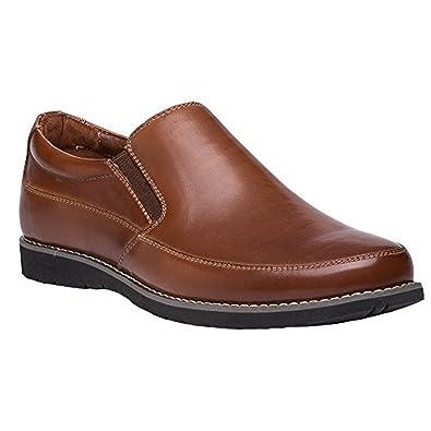 Propet Men's Grant Shoe Brown 8 X (3E) & Oxy Cleaner Bundle