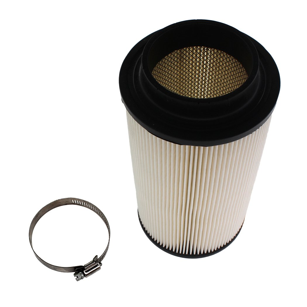 SPM Air Filter with Clamp for 1996-2008 Polaris 400 500 4X4 6X6 Trail Blazer 330 Trail Boss 325 Worker 500 Xpedition 325 425 Xplorer 500