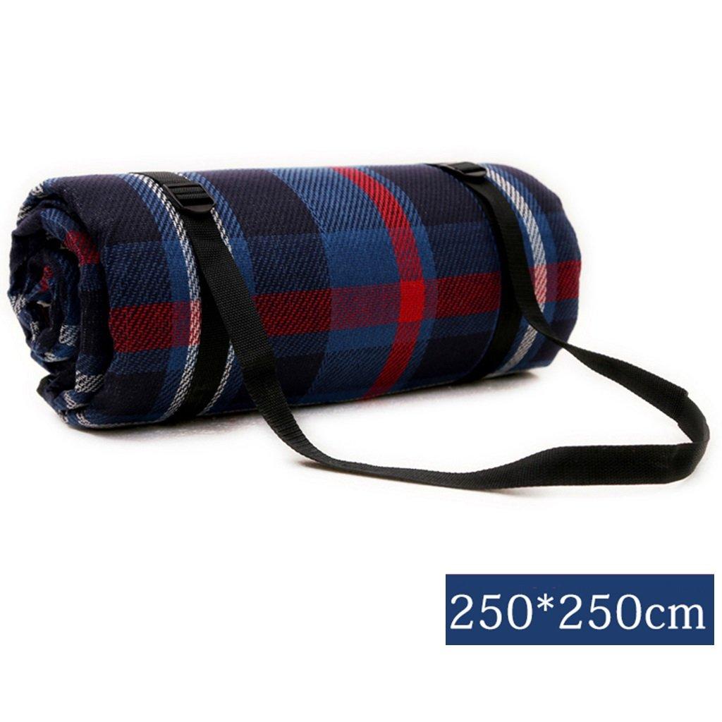 ERRU-Feuchtraum-Pad Camping Pad, Outdoor Portable Feuchtigkeitsfeste Pad Camping Zelt Schlafmatten (250  250CM) Waterproof Feuchtigkeit